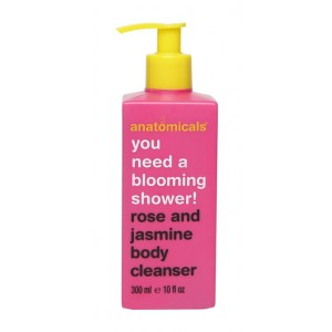 Buy Anatomicals Rose And Jasmine Body Cleanser - Nykaa