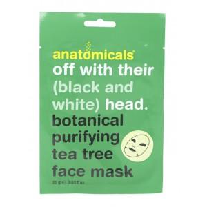 Buy Anatomicals Botanical Purifying Tea Tree Cloth Face Mask - Nykaa