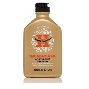 Buy Happy Naturals Macadamia Oil Moisturising Shampoo - Nykaa