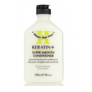 Buy Happy Hair Days Keratin+ Super Smooth Conditioner - Nykaa