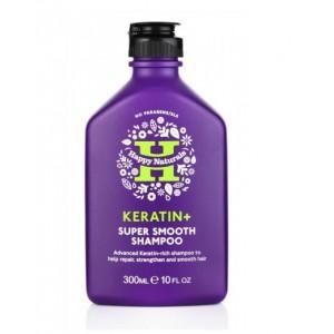 Buy Happy Naturals Keratin + Super Smooth Shampoo - Nykaa