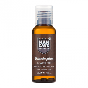 Buy Mancave Blackspice Beard Oil - Nykaa