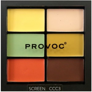 Buy Provoc Contour Correct Conceal Palette - Screen 3 - Nykaa