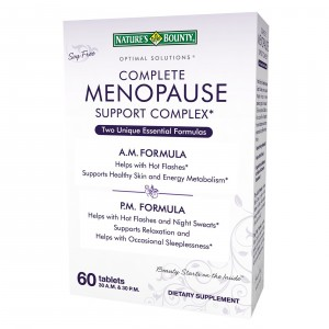 Buy Nature's Bounty Complete Menopause Support Complex - Nykaa