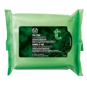 Buy The Body Shop Tea Tree Cleansing Wipes - Nykaa
