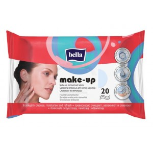 Buy Bella Make-Up Removal Wet Wipes - 20 Pcs - Nykaa