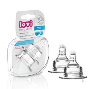 Buy Lovi Dynamic Silicone Teat Medium - Nykaa