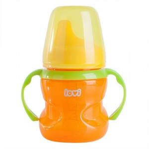 Buy Lovi No Spill Cup 6 M+ Orange - Nykaa