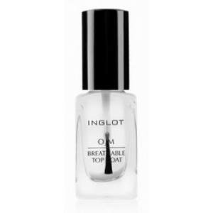 Buy Inglot O2M Breathable Top Coat - Nykaa