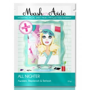 Buy MaskerAide All Nighter Facial Sheet Mask - Nykaa