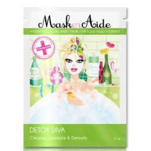 Buy MaskerAide Detox Diva Facial Sheet Mask - Nykaa