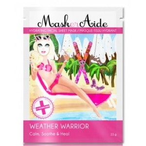 Buy MaskerAide Weather Warrior Facial Sheet Mask - Nykaa