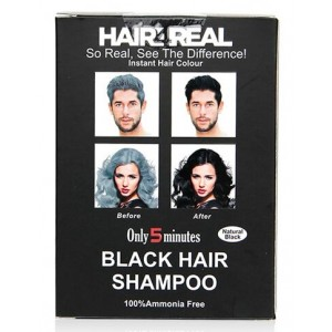 Buy Hair4Real Natural Black Hair Shampoo(Pack of 24 Sachet) - Nykaa