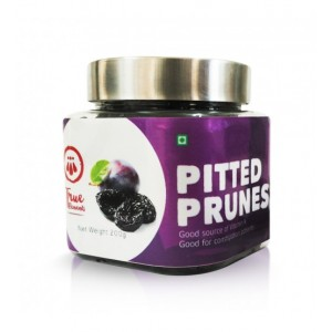 Buy True Elements Pitted Prunes - Nykaa