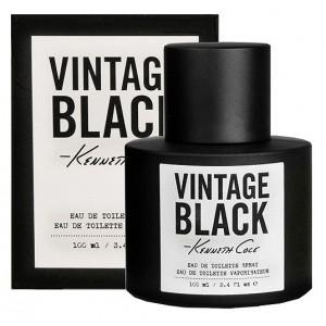 Buy Kenneth Cole Vintage Black Eau De Toilette Spray For Men - Nykaa