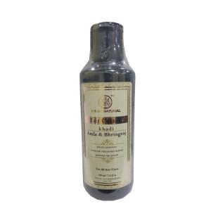 Buy Khadi Natural Amla & Bhringraj Herbal Hair Cleanser - Nykaa