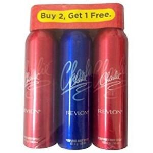 Buy Revlon Charlie Deodorant Combo ( Buy 2 Get 1 Free ) - Nykaa
