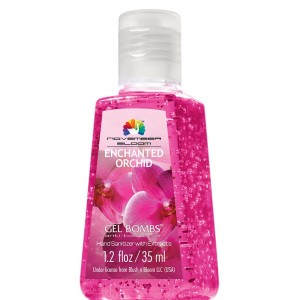Buy November Bloom Gel Bombs Enchanted Orchid Hand Sanitizer - Nykaa