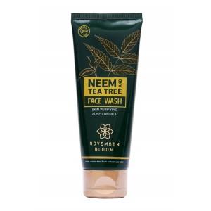 Buy November Bloom Neem and Tea Tree Face Wash - Nykaa