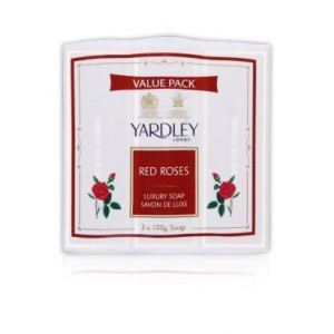 Buy Yardley Red Roses Soap(Pack of 3) (Save Rs.15) - Nykaa