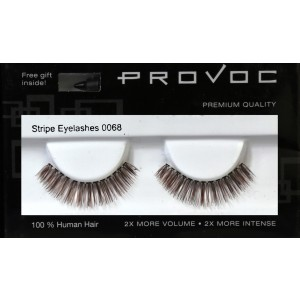 Buy Provoc Stripe Eyelashes 0068 - Nykaa