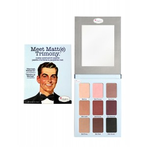 Buy theBalm Meet Matt(e) Trimony Eyeshadow Palette - Nykaa