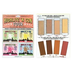 Buy theBalm Highlite 'N Con Tour Highlight & Contour Palette - Nykaa