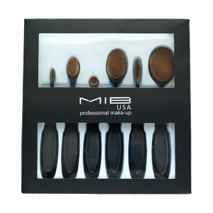 Buy MIB Contour Blending Brush Set (Pack Of 6) - Nykaa