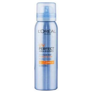 Buy L'Oreal Paris UV Perfect Aqua Essence City Face Mist - Nykaa