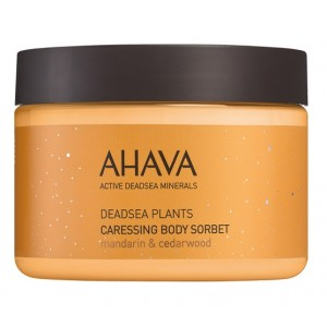 Buy AHAVA Dead Sea Plants Caressing Body Sorbet - Mandarin & Cedarwood - Nykaa