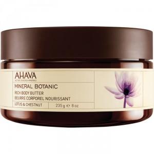 Buy AHAVA Mineral Botanic Rich Body Butter - Lotus & Chestnut - Nykaa