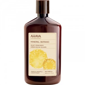 Buy AHAVA Mineral Botanic Cream Wash - Pineapple & Peach - Nykaa