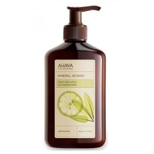 Buy AHAVA Mineral Botanic Velvet Body Lotion - Lemon & Sage - Nykaa