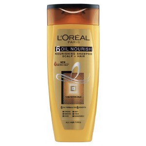 Buy L'Oreal Paris 6 Oil Nourish Shampoo - Nykaa