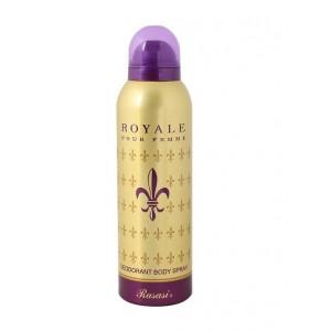 Buy Rasasi Body Spray For Women Royale   - Nykaa