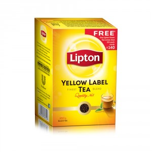 Buy Lipton Yellow Label Finest Tea Blend + Free Lipton Green Tea Lemon Zest - 25's Pack (Worth Rs.140/-) - Nykaa
