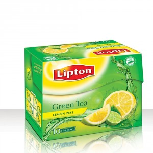 Buy Lipton Green Tea Lemon Zest - Nykaa