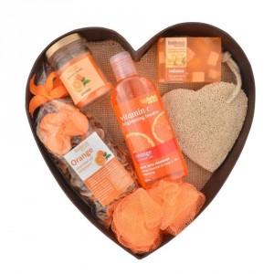 Buy BodyHerbals Orange Surprise Bathing Set - Nykaa