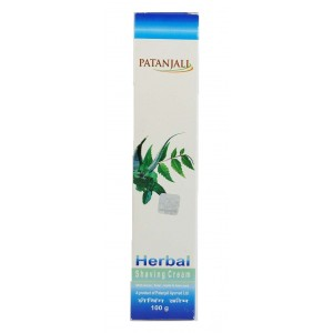 Buy Patanjali Herbal Shaving Cream - Nykaa