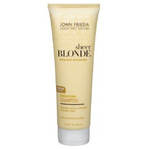 Buy John Frieda Sheer Blonde Highlight Activating Enhancing Shampoo for Lighter Blondes - Nykaa
