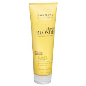 Buy John Frieda Sheer Blonde Highlight Activating Enhancing Shampoo for Darker Blondes - Nykaa