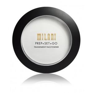 Buy Milani Prep + Set + Go Transparent Face Powder - Universal - Nykaa