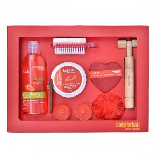 Buy BodyHerbals Strawberry Essentials Gift Set - Nykaa