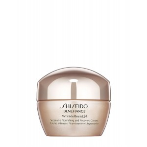 Buy Shiseido Benefiance Wrinkleresist24 Intensive Nourishing And Recovery Cream - For Dry To Very Dry Skin - Nykaa