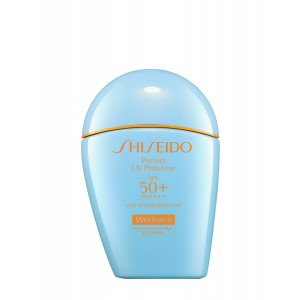 Buy Shiseido Perfect UV Protector SPF 50+ PA ++++ For All Skin Types Especially For Sensitive Skin Including Babies - Nykaa