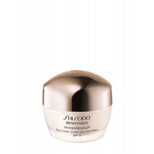Buy Shiseido Benefiance Wrinkleresist24 Day Cream SPF 15 - For Normal To Dry Skin - Nykaa