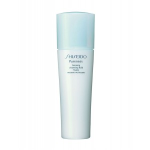 Buy Shiseido Pureness Foaming Cleansing Fluid - For Normal, Oily And Combination Skin - Nykaa