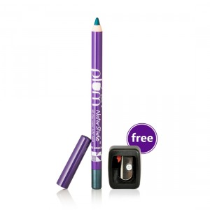 Buy Plum Natur Studio All-Day-Wear Kohl Kajal - Gemstone Green With Free Sharpener - Nykaa