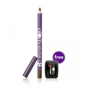Buy Plum Natur Studio All-Day-Wear Kohl Kajal - Uptown Brown With Free Sharpener - Nykaa