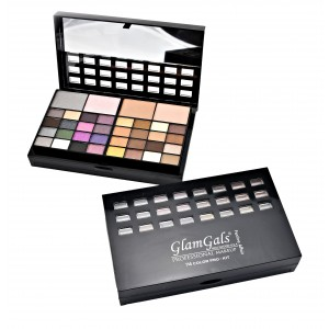 Buy GlamGals 74 Color Pro-Kit - Nykaa